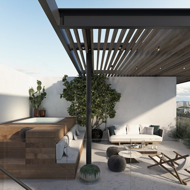 Alder | Light / Roof garden apt.6