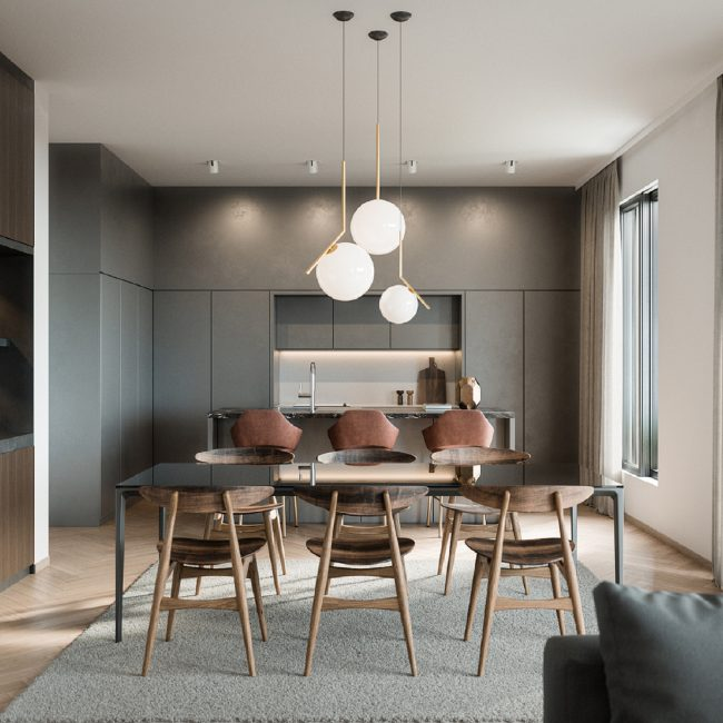 Almond | Penthouse / Conceptual view
