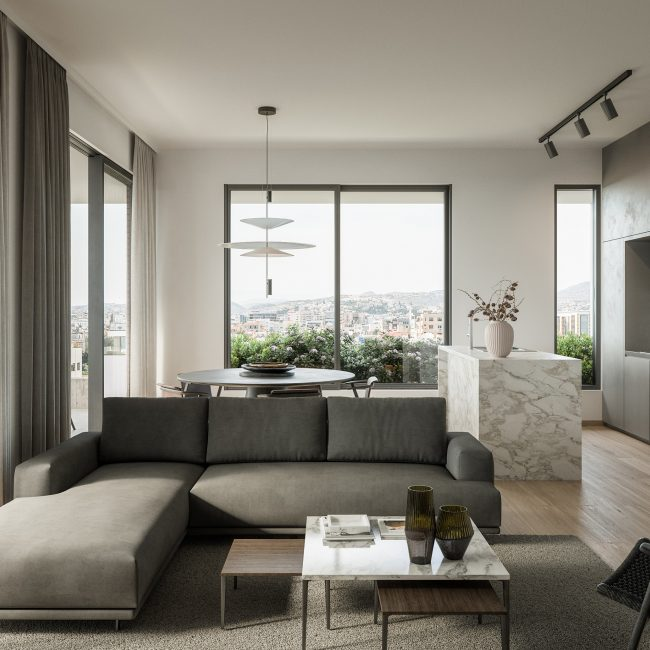 Almond | Typical Apartment / Conceptual view
