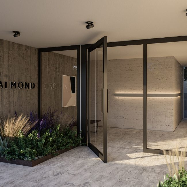 Almond | Building entrance
