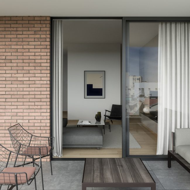 Almond   Two bedroom apartment / Conceptual View
