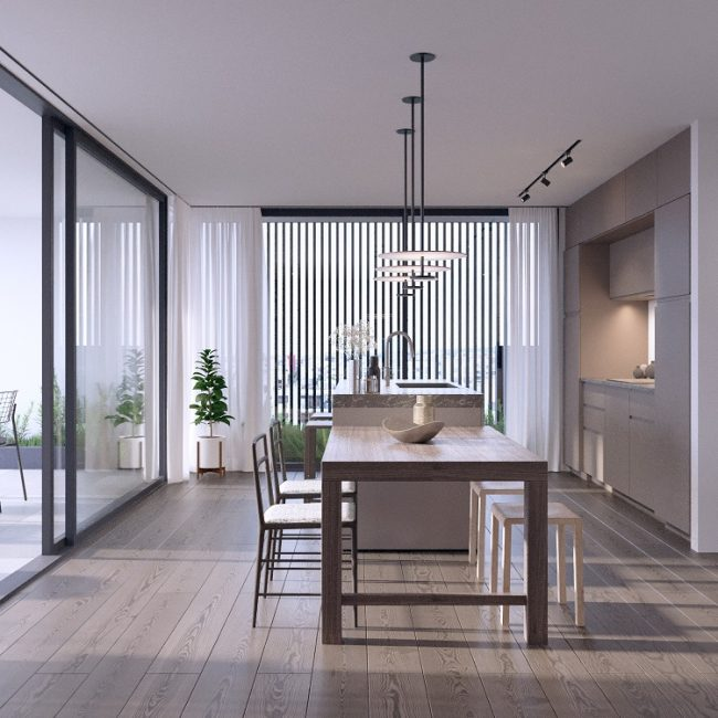 Salvia | Two bedroom apartment / Conceptual View