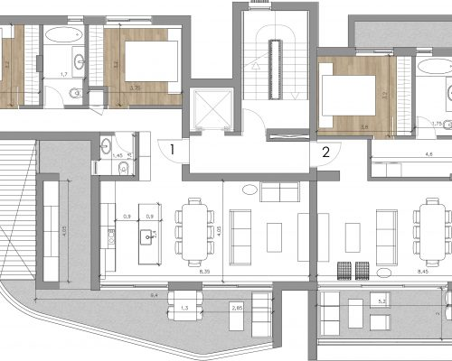 Hickory | First Floor