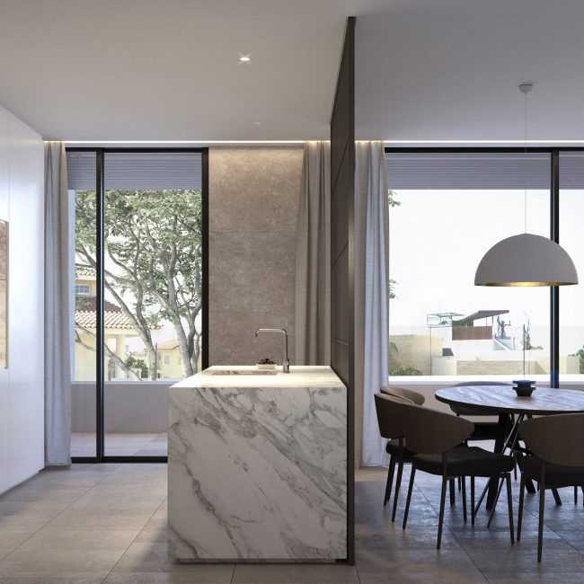 Hickory | Typical Apartment / Conceptual View